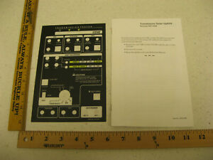 Otc Rotunda 007 00085 Ford Transmission Tester Cd4e Overlay Box 262