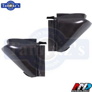 1968 1969 1970 68 69 70 Dodge Charger Rear Valance Corner Patches Pair Amd New