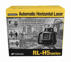 Topcon Rl h5a Horizontal Self leveling Rotary Laser Kit W Ls 80l Receiver