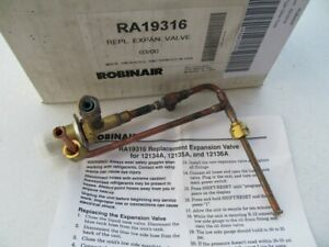 Ra19316 Expansion Valve For Robinair 12134a 12135a 12136a Auto Freon Reclaimer
