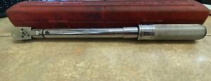 Snap On Tools Qc2fr75 3 8 Drive 5 75 Ft lbs Torque Wrench