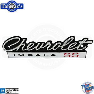 1966 Chevy Chevrolet Impala Ss Front Grille Emblem Made In Usa Trim Parts