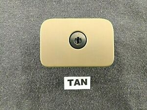 Cadillac Cts Srx Xlr Sts Glove Box Storage Latch Handle Lock 20864473 Oem Tan