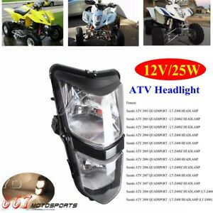 Motorcycle ATV 12V/25W Headlight For Suzuki Quadsport LTZ400 LT-Z400Z 2003-2008