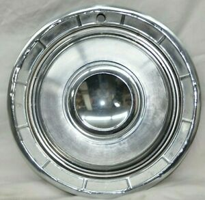 1960 Chrysler Hubcap Saratoga New Yorker Fifth Ave Windsor 14 Wheel Cover Used