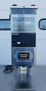 Bunn G9 2t Hd Tall Commercial Coffee Grinder 6 Lb Hoppers 120v