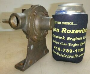 Oberdorfer Brass Body Pump For Hit And Miss Old Gas Engine 1 2 Pipe Very Neat