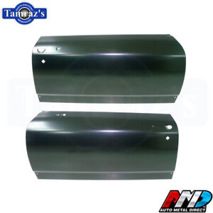 1968 68 Chevelle Outer Door Skin Panel Pair New Amd