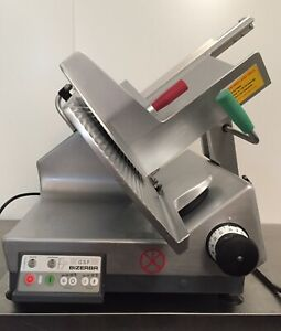 2016 Bizerba Gsp hd Automatic Gravity Meat Cheese Deli Slicer Sharpener Hobart