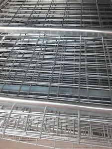 New 44x46 Wire Mesh Decking Waterfall Wire Deck Flared