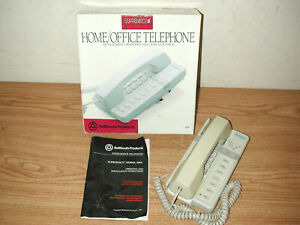 Vintage 1992 Bellsouth Supremacy 850v 14 Memory Home office Telephone With Box