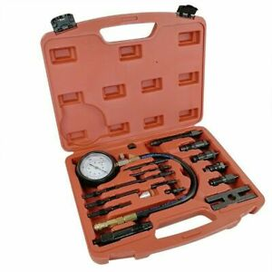 Tu 15b 16pcs Diesel Engine Compression Tester Test Set For Auto Tractor Semi