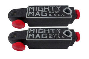 2pcs Mighty Mag 400 1 Universal Magnetic Base Test dial Indicator Holder Usa P