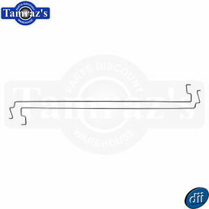 65 66 Mustang Coupe Only Trunk Hinge Torsion Rod Tension Spring Set