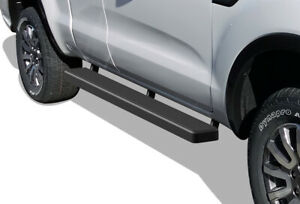 Iboard Running Boards 5 Inches Matte Black Fit 19 20 Ford Ranger Super Cab 2dr