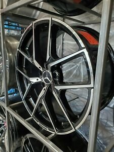 Set Of 20 Black Y Amg Style Rims Wheels Fits Benz Cls500 Cls550 Staggered