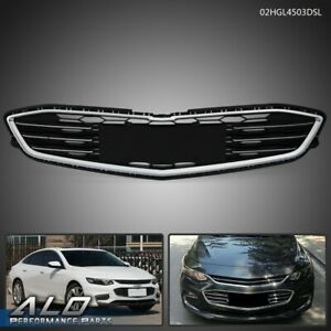 Abs Chrome Front Bumper Lower Grille For Chevrolet Malibu Hybrid 2016 2017 2018
