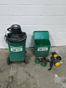 Greenlee 690 Power Fishing Vacuum Blower With Lots Of Accessorie Msrp Is 1 758 5