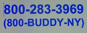 800 Toll free Phone Number Transfer Great Marketing Tool 800 buddy ny 283 3969