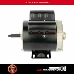 2 Hp Spl Air Compressor Duty Electric Motor 56 Frame 3450 Rpm Single Phase Odp