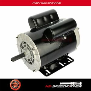 3 Hp Spl Air Compressor Duty Electric Motor 56 Frame 3450 Rpm Single Phase Odp