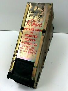 Used Rowe Dollar Coin Or Quarter Hopper 6 50276 06 Chain Driven Working