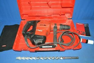 Hilti Rotary Hammer Drill Te 60 atc Corded Sds Max Demolition Pre Owned