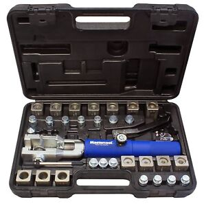 Mastercoo 72475 prc Universal Hydraulic Flaring Tool Set With Tube Cutter
