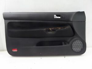 Vw Golf Gti 20th 20ae Left Front 2 Dr Door Card Panel Mk4 00 05 Oem Recaro Cloth