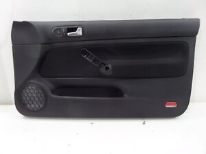 Vw Golf Gti 20th 20ae Right Front 2 Dr Door Card Panel Mk4 00 05 Recaro Cloth
