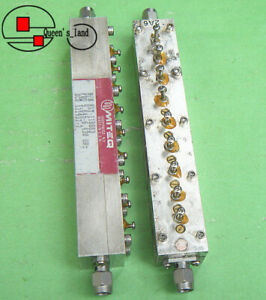 1 Miteq Flt 118883 5 845 6 430ghz Rf Microwave Cavity Band pass Filter