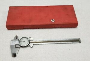 Vintage Helios Stainless Dial Caliper 001 Made In Germany pre owned
