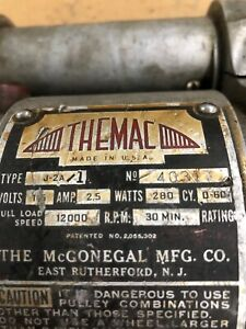 Themac Tool Post Grinder J 2a 1