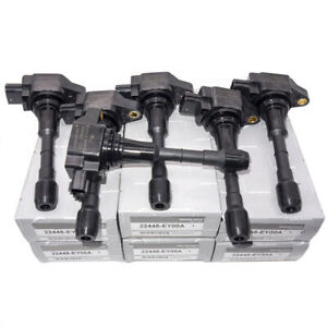 6x Ignition Coil 22448 Ey00a For Nissan 370z Infiniti Fx50 G37 M37 M56 Oem