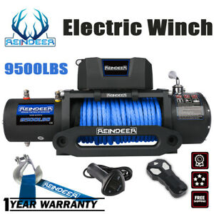 X bull 4500lbs 12v Electric Winch Steel Cable Towing Truck Off Road Atv