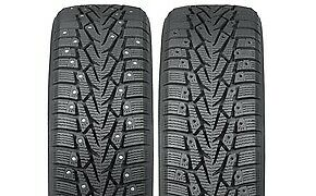 Nokian Nordman 7 non studded 155 80r13 79t Bsw 4 Tires