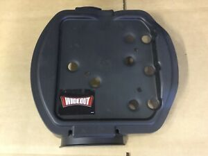 New Western Snow Plow Hydraulic Pump Unit Front Cover Wide Out 49445