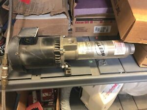 Webtrol Ez Series Booster Pump Model No L10b8s 3pht
