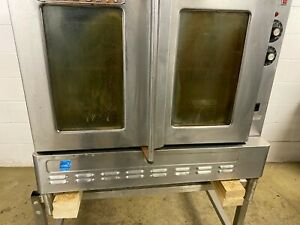 Blodgett Convection Single Oven Natural Gas Tested 115 Volt On Short Legs