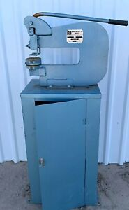 Roper Whitney Inc Pexto 218 Bench Punch With Cabinet