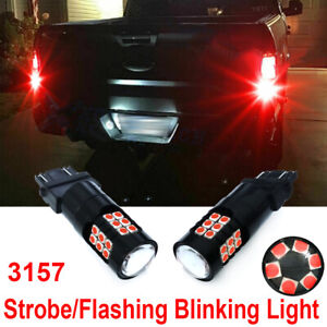 Led Strobe Brake Tail Lights Replacement Bulbs For 2016 2019 Honda Civic Coupe