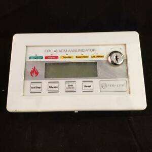 Fire lite Lcd 80f Fire Alarm Annunciator 80 character Lcd Remote Display Lcd80f