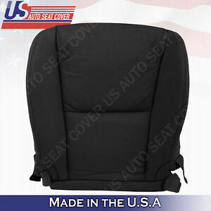 Fits 2006 To 2011 Lexus Gs350 Driver Bottom Leather Perforated Seat Cover Black