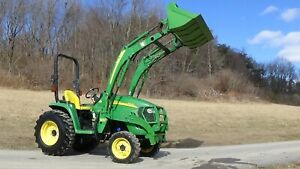 2010 John Deere 3320 4x4 Tractor With Loader