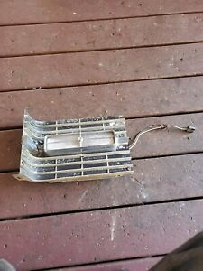 1966 Cadillac Coupe Deville Rh Grille Extension W Light Convertible