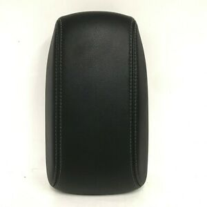 2015 2016 2017 2018 Toyota Corolla Center Console Arm Rest Lid Black Leather Oem