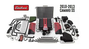 Edelbrock Tvs 2300 Supercharger Kit For 2010 2013 Ss Camaro Auto Trans