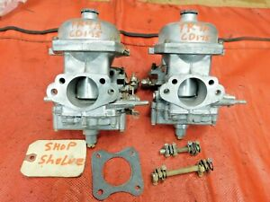Triumph Tr4a Stromberg Zenith Cd175 Carburetors Rebuilt Original