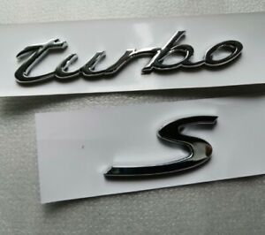 Glossy Badge Emblem Letter Nameplate For Porsche Cayenne Gts Panamera Turbo S