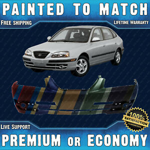 New Painted To Match Front Bumper Replacement For 2004 2005 2006 Hyundai Elantra